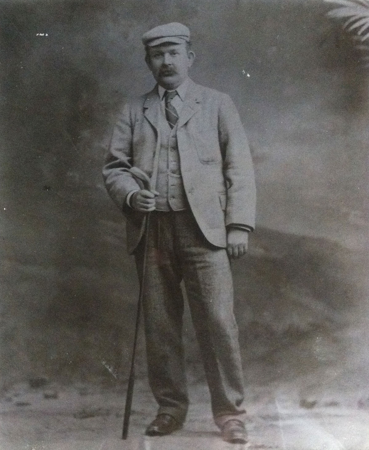 Walter Rutherford, a member of Jedburgh Golf Club, who finished 2nd in the golf competition at the 1900 Paris Games, credit Jedburgh Golf Club
