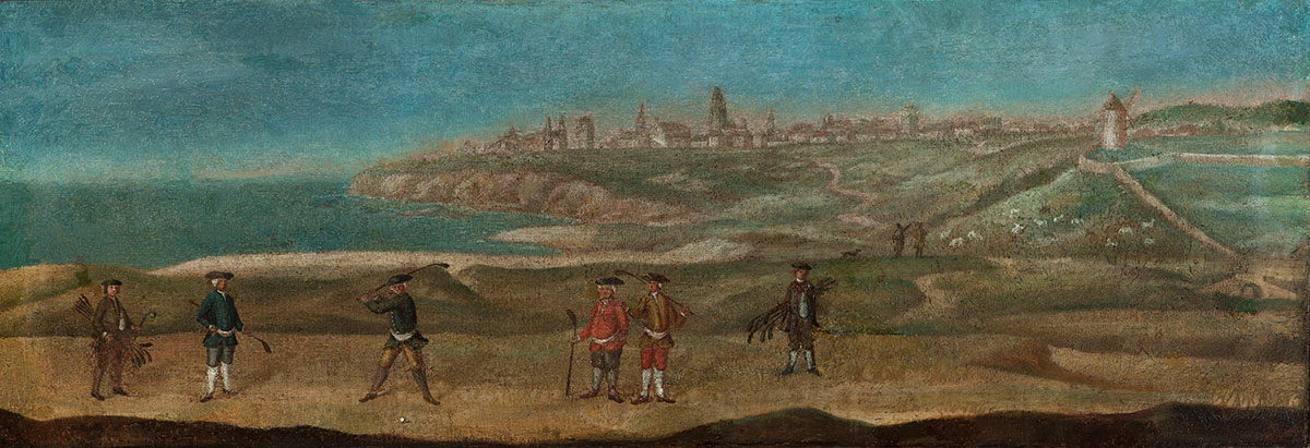 St Andrews, about 1740, credit The Royal and Ancient Golf Club of St Andrews