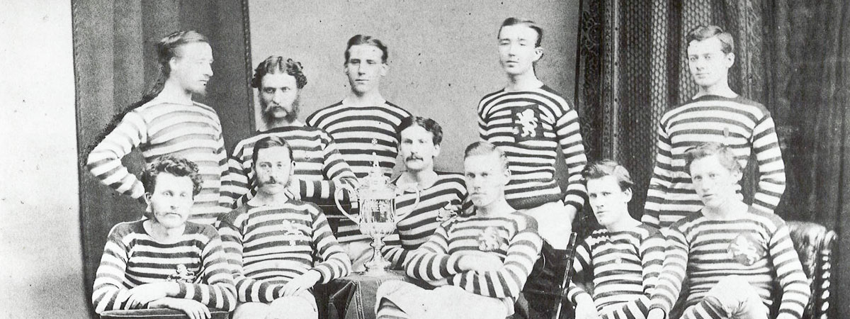 Football Team from the past