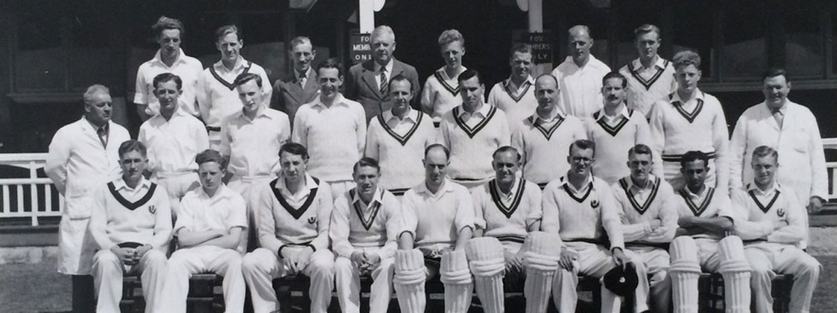 Scotland v Worcester, Forthill, Broughty Ferry 1951